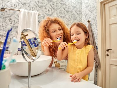 How dental professionals, and their families, care for their teeth at home.